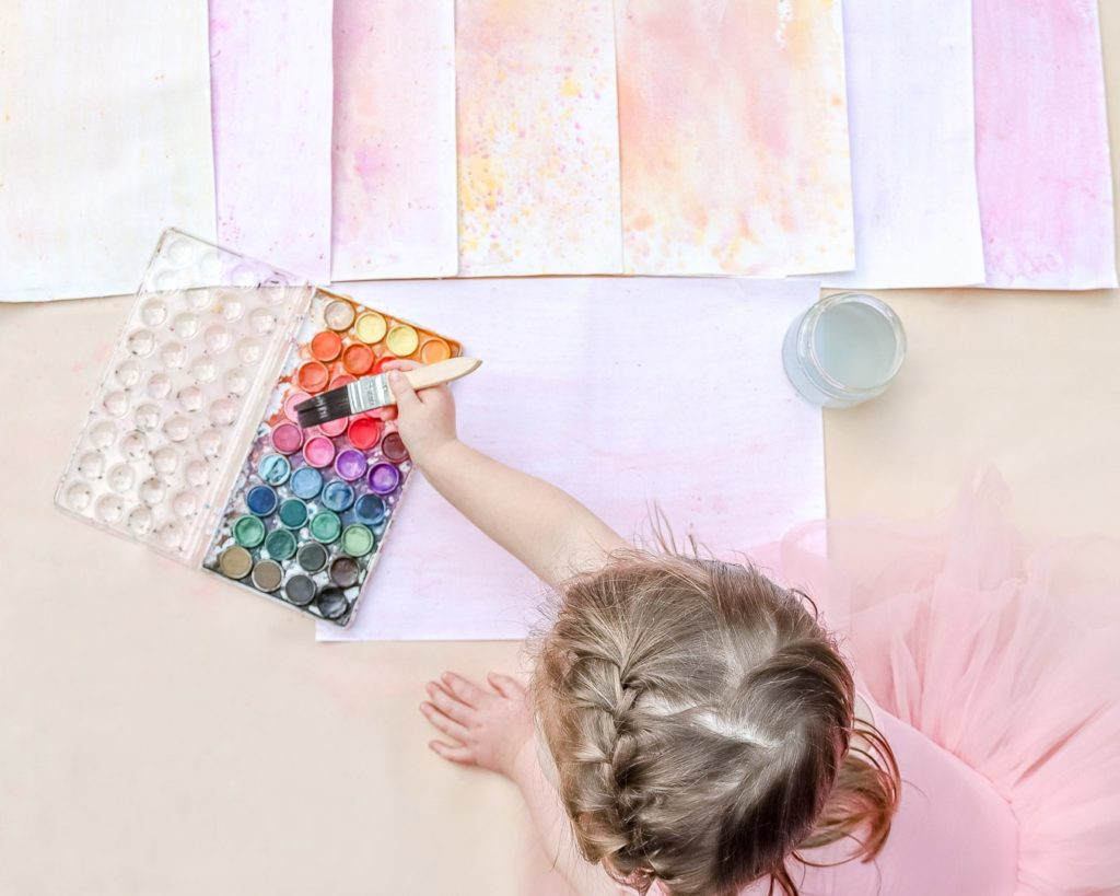 Painting Water color Paper for Fairy Doll Wings