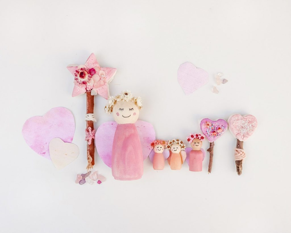 Finished Magical Mini Fairy Doll Tutorial