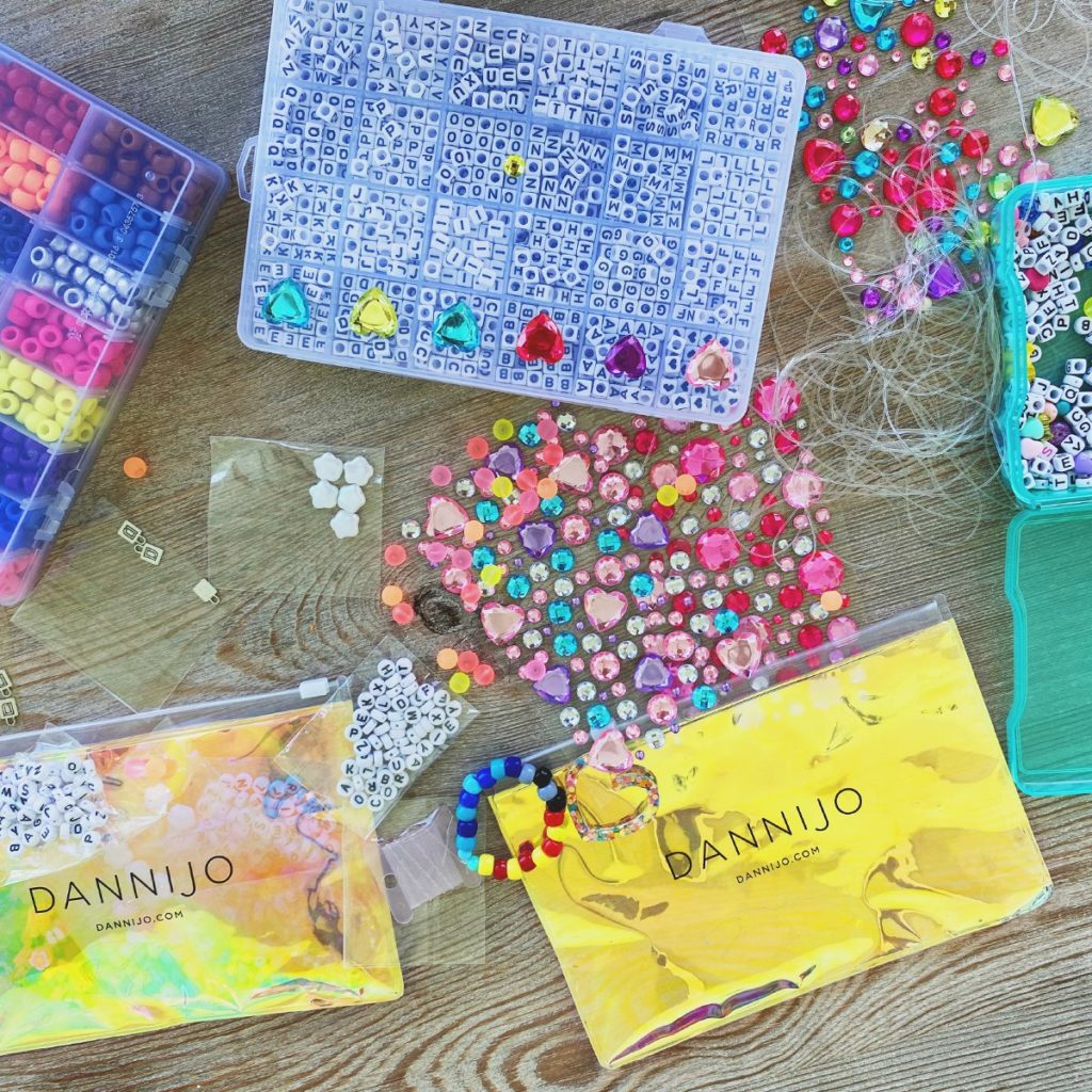 DanniJo DIY Bead Kit for Rainbow Friendship Bracelets