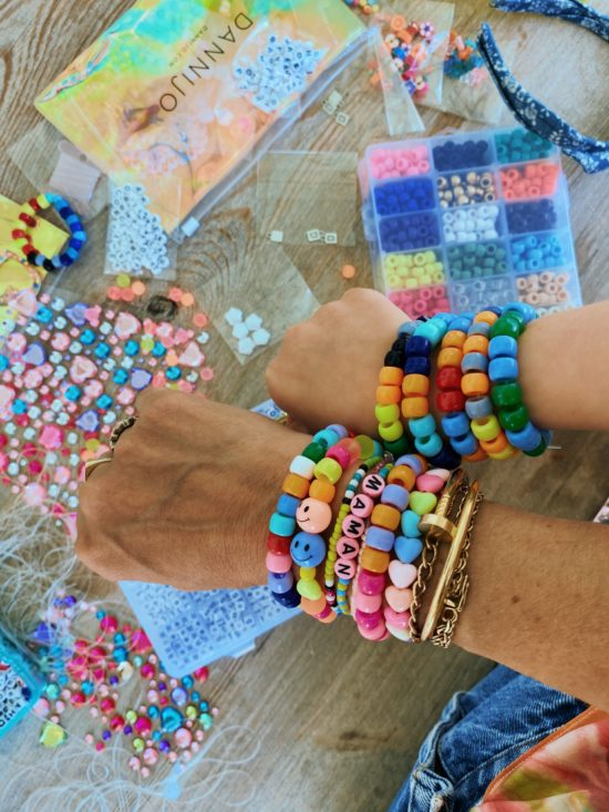 DIY Fabulous Rainbow Friendship Bracelets