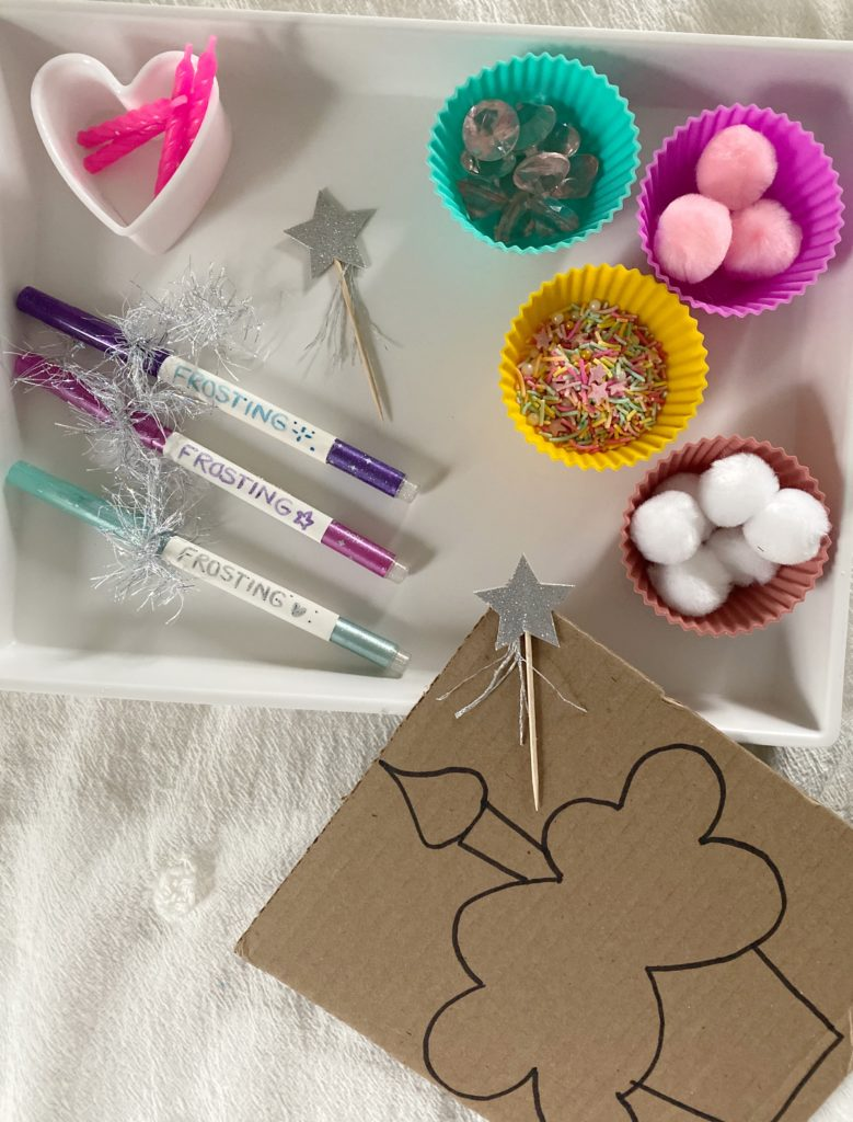 Magnificent Cupcake Decorating Activity Materials