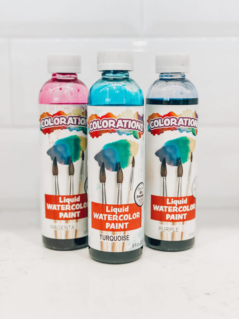 Coloration Water Color Paint