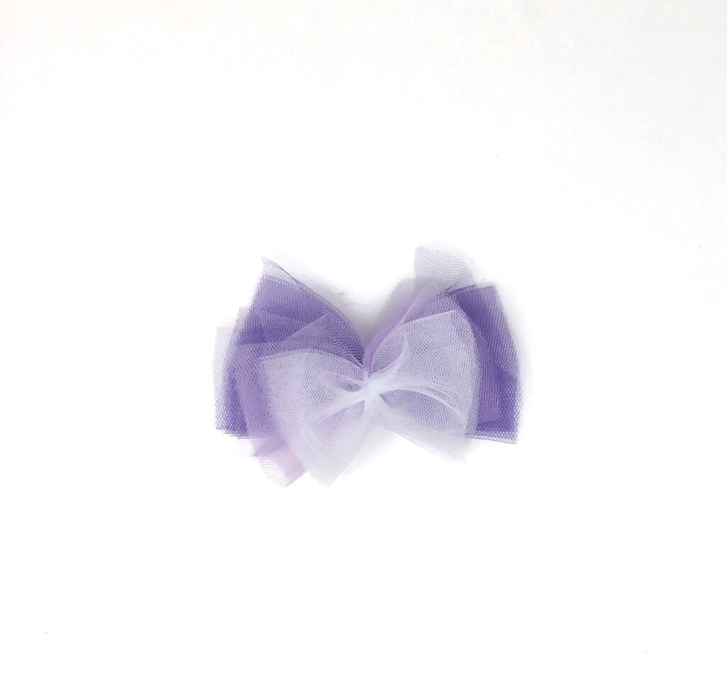 DIY Tutu Hair Bows Step 4