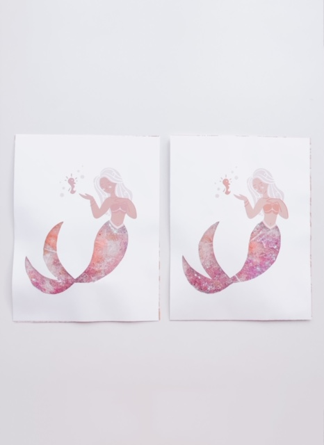Magical Mermaid Tails Craft Step 4