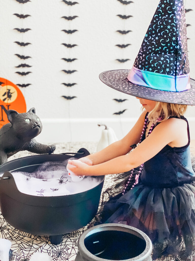 DIY Sensory Witch's Brew Play time
