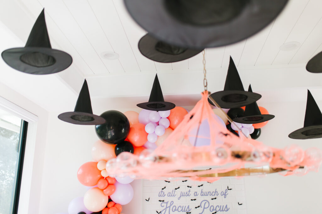 Epic Ghoul Gang Halloween Party Floating Witch Hats