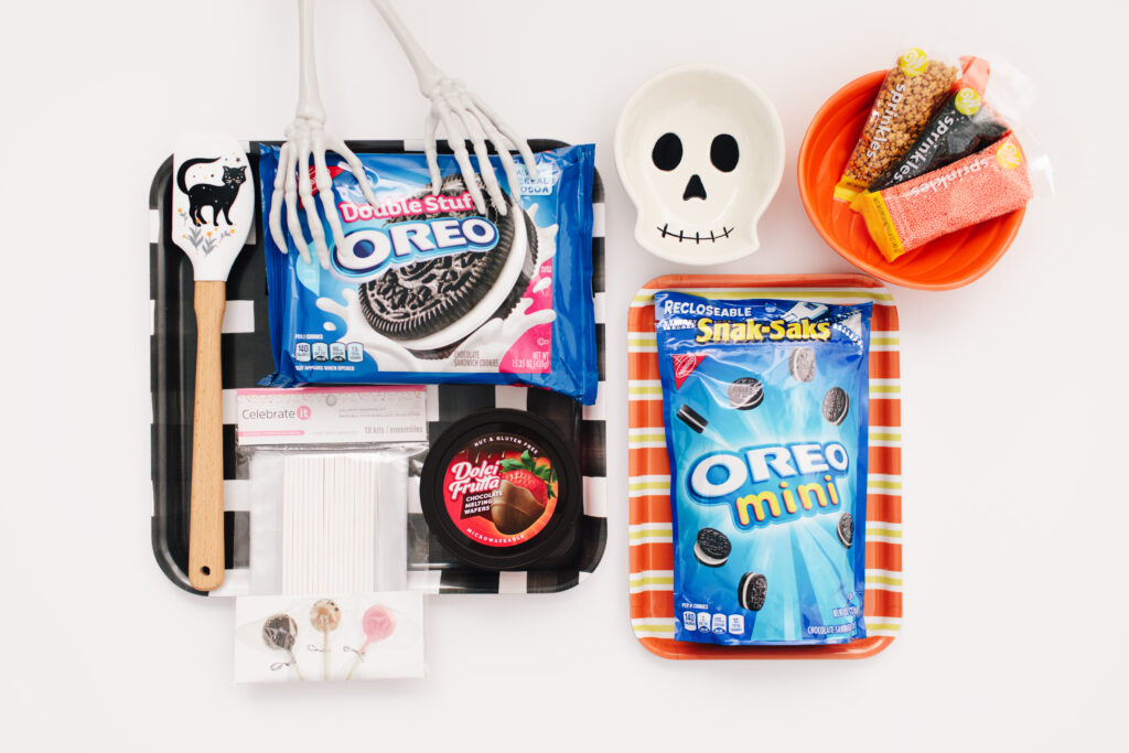 Spooky DIY Mickey Mouse Cookie Pops Materials