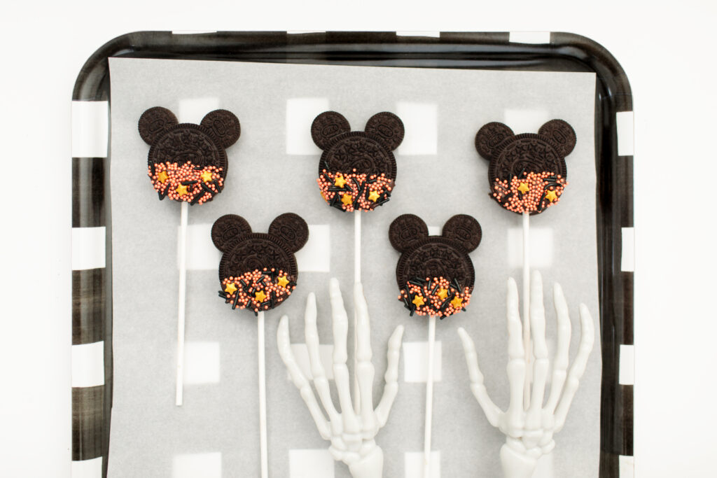 Spooky DIY Mickey Mouse Cookie Pops Step 6
