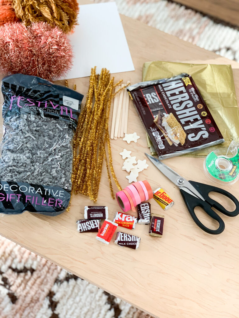 Ghoul Friends Printable Halloween Candy Wrappers Materials