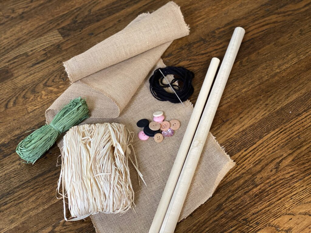 Plum Perfect DIY Scarecrows Materials