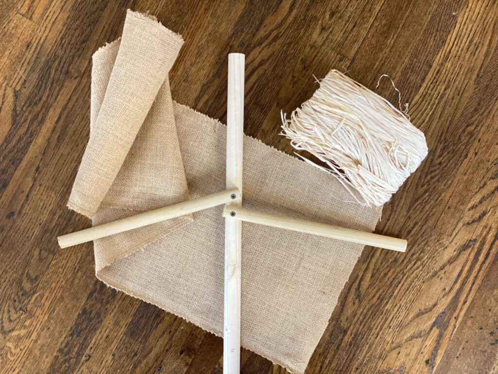 Plum Perfect DIY Scarecrows Step 3