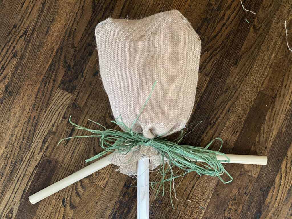 Plum Perfect DIY Scarecrows Step 7
