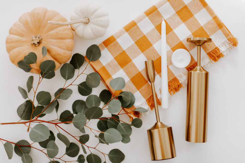 Thanksgiving Centerpiece Tutorial Materials