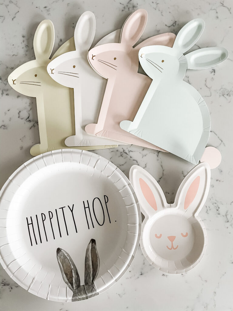 Easy & Adorable Easter Bunny Tea Party Tablescape Step 4a