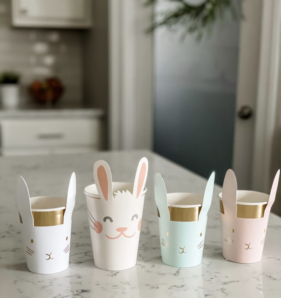 Easy & Adorable Easter Bunny Tea Party Tablescape Step 4c