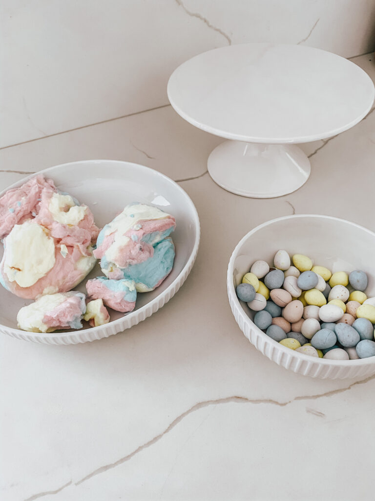 Inexpensive & Easy 2-Step Robin's Nest Treats Materials