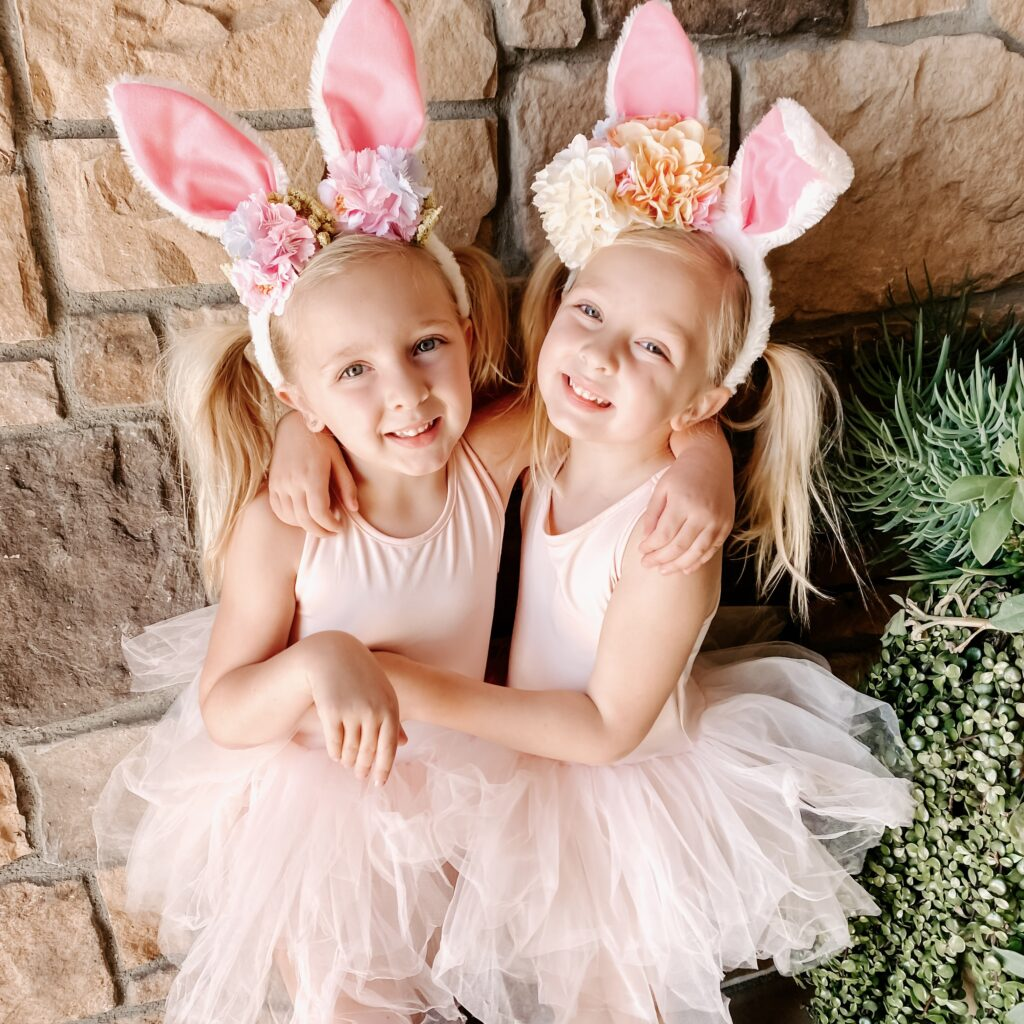 DIY Blooming Bunny Ears Finished